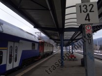 Tren in Gara Busteni