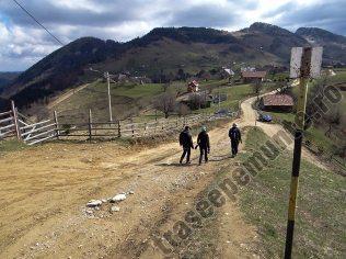 Intrarea in satul Magura