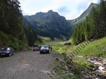 Parcarea din Valea Rea