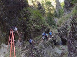 Canionul Valea lui Stan_scara_1