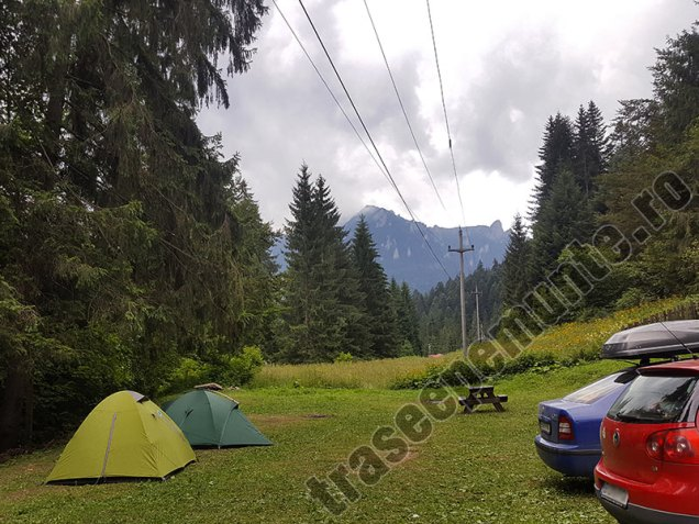Camping Leon Durau - Muntii Ceahlau - casuta - cort
