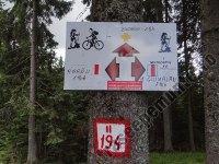 Saua Fundu Colbului-marcaj pe munte