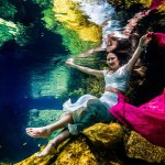 Photos Wedding Underwater - Trash The Dress - Sebi Messina Photography