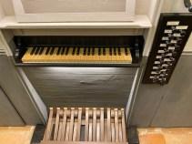 tastiera e pedali organo duomo di cdp