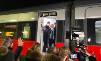 """Ferrovie, aperta la fermata Frecciarossa a Terontola, Chiodini: """"Bene, ora si torni a valutare l'ipotesi della stazione Media Etruria"""""""