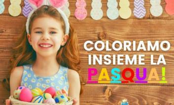 """""""Coloriamo insieme la Pasqua"""", l'invito ai bambini della Pieve per inviare disegni e lavoretti"""