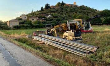 Metanizzazione, riprendono i lavori a San Savino