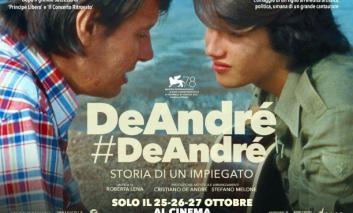 Spettacoli, evento dedicato a Fabrizio De André al Temporary Cinema