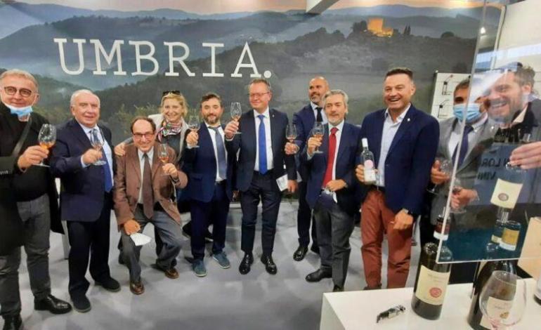 Al Vinitaly l'Umbria del vino ha brindato alla ripartenza del settore