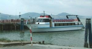 Attracco traghetti per isola a San Feliciano