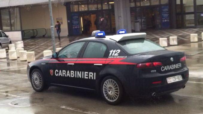 Città della Pieve,i Carabinieri arrestato un quarantacinquenne per furto aggravato
