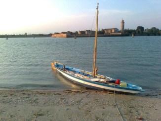 Trasimeno, due sandoli veneziani, la Celestina e la Ruvida