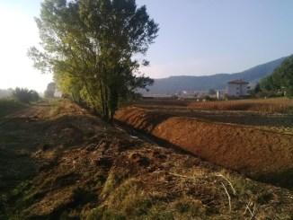 Fossi e corsi d'acqua: partiti i lavori di ripulitura nelle frazioni di Montesperello e Vallupina