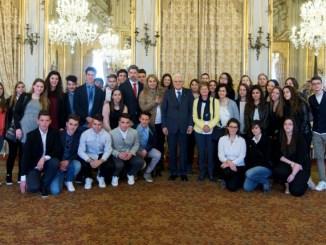 Città della Pieve, studenti del Calvino dal presidente Mattarella
