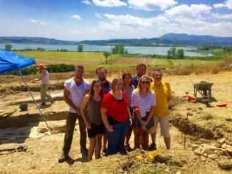 Scavi archeologici a Gioiella nel comune di Castiglione del Lago