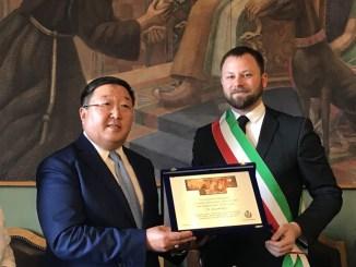 Magione punto di raccordo per i rapporti tra Italia e Mongolia