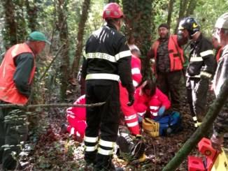 Città della Pieve,cacciatore cade in una scarpata, muore in ospedale