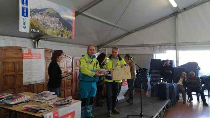 Norcia dona alla Misericordia di Magione la Carta di cittadinanza europea