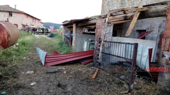 Esplosione a Missiano, vigili del fuoco sul posto, indagini in corso