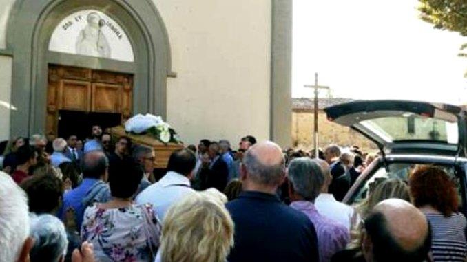 Dolore e commozione a Mugnano per Funerali Nicola Battaglini