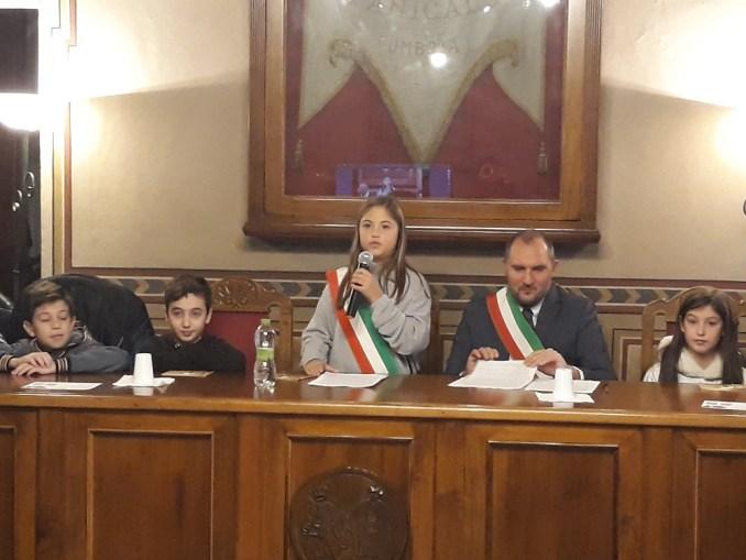 Panicale, Giulia Morbidelli sindaca del primo Consiglio comunale dei ragazzi