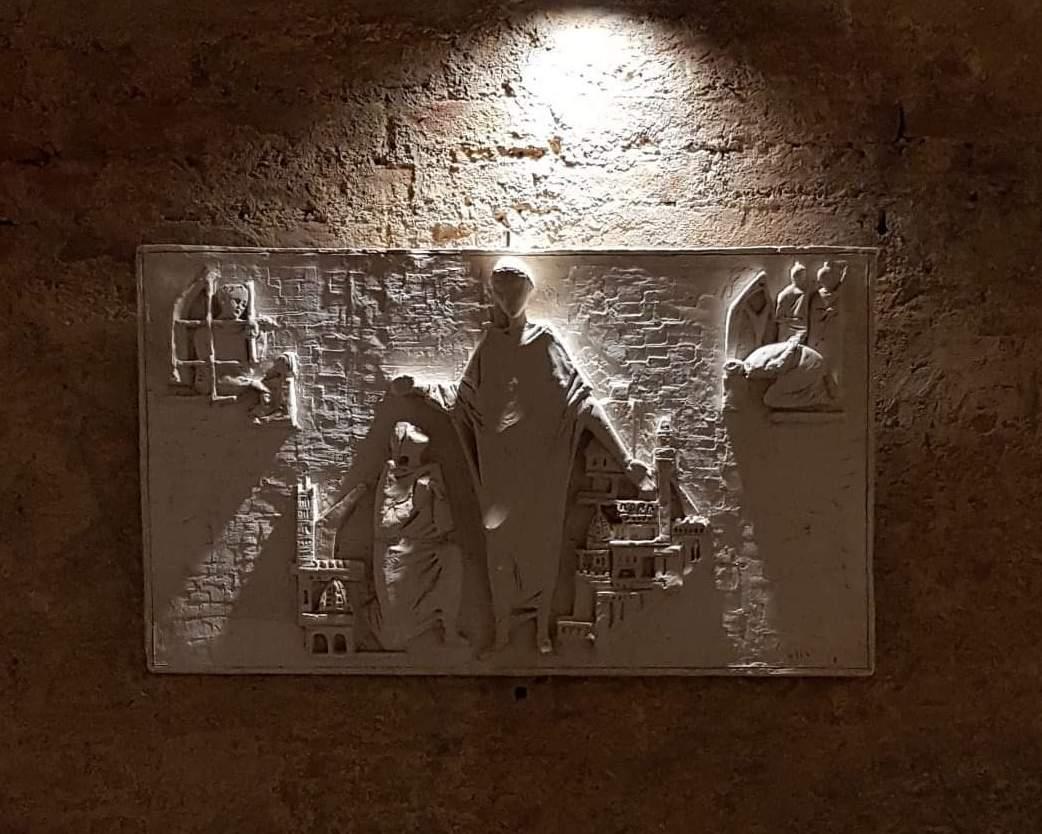 Città della Pieve, Nelle cripte della concattedrale dei Santi Gervasio e Protasio