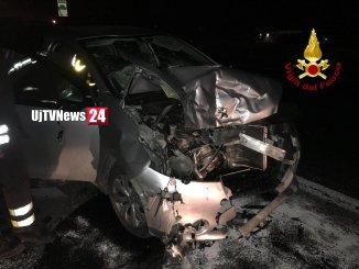 Incidente stradale sul Raccordo Perugia Bettole a Passignano, una persone ferita