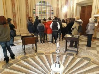 """Città della Pieve, Quattrocento studenti del """"Vannucci"""" incontrano l'arte contemporanea"""