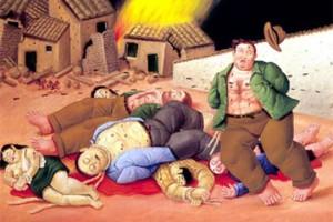 Masacre, de Botero.