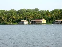 Laguna de Sinamaica, estado Zulia. Tomado de Wikimedia.org