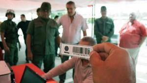 Sistema de etiqueta electrónica impuesta por PDVSA. Tomado de Soberanía.org