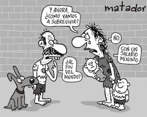 caricatura matador