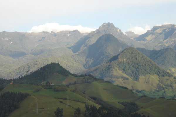 Páramo de Cajamarca.