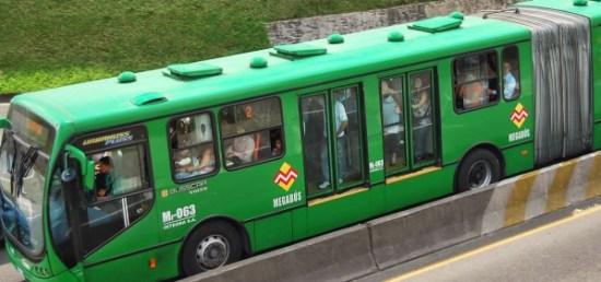 Sistema de Transporte masivo urbano de pasajeros Megabús. Pereira - Dosquebradas.