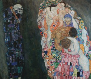 Muerte y vida, Gustav Klimt
