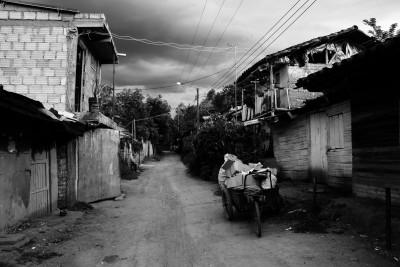 Los homicidios han marcado a esta abandonada población. Foto: Laura Sofía Mejía L.