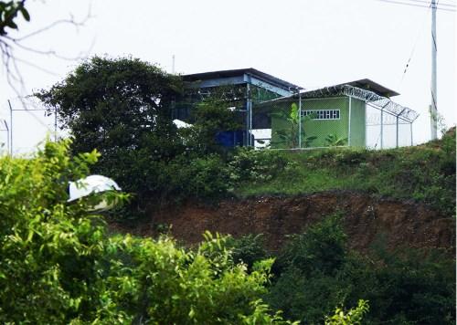 Planta de tratamiento de agua en Guacirco, instalada por Ecopetrol (Foto: Federico Ramírez).