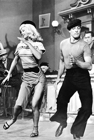 "Vera Ellen y Gene Kelly en ""Words and Music"" (1948)"