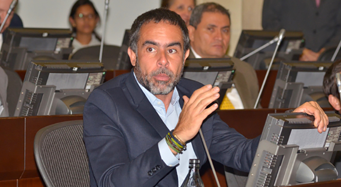 El Senador por el Partido de la U Armando Benedetti. Foto: Congreso de la República