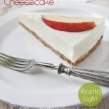 Cheesecake fredda allo yogurt: light, senza uova e senza cottura!