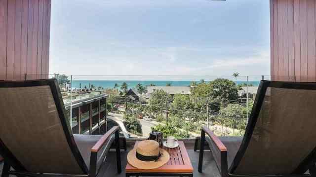 Ocean View Jacuzzi Deluxe Hillside - KC Grande Resort and Spa