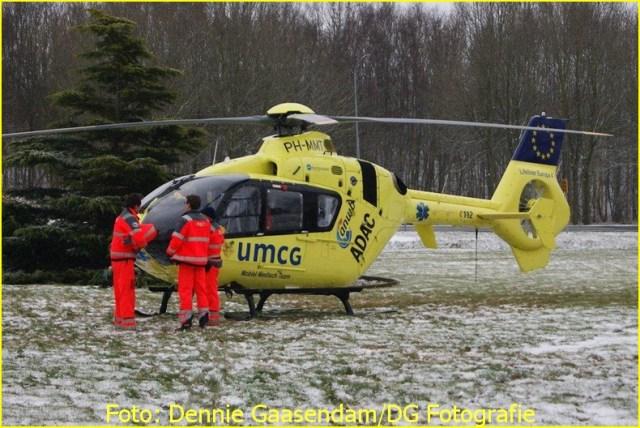 Lifeliner4 inzet Nieuwe Pekela Foto: Dennie Gaassendam