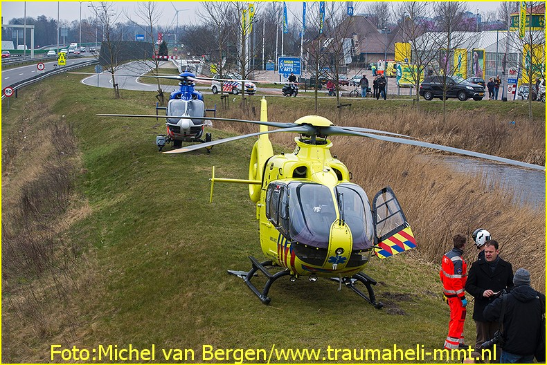 Lifeliner1 inzet Alkmaar Foto: Michel van Bergen (6)