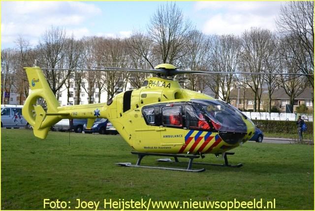 Lifeliner2 inzet Rotterdam Foto: John Heijstek