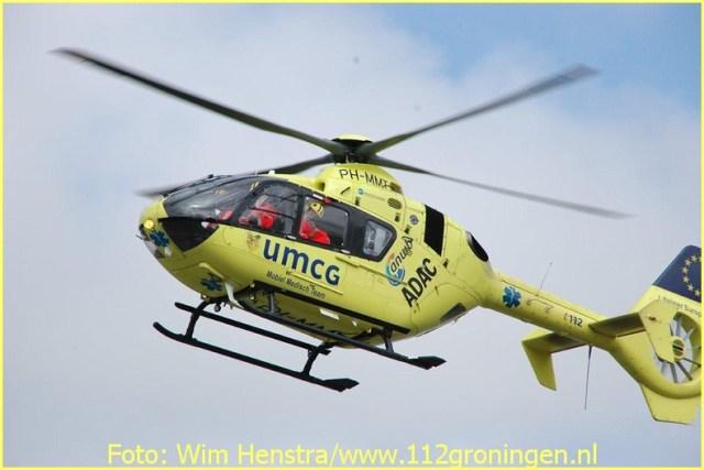 Lifeliner4 inzet Uithuizermeeden Foto: Wim Henstra