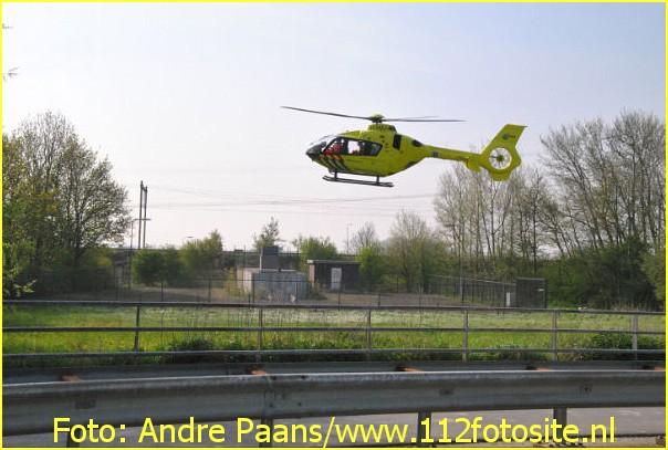 Lifeliner2 inzet Woensdrecht Foto: Andre Paans