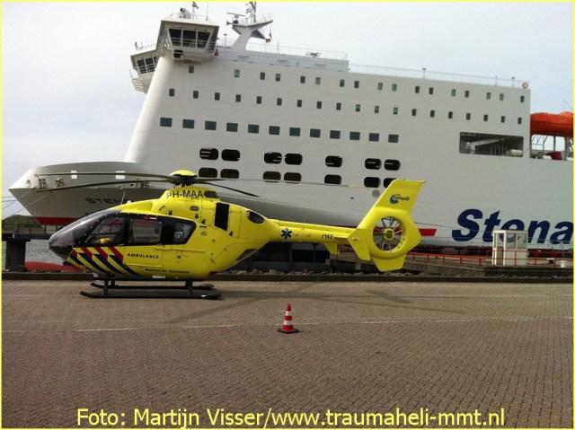 Lifeliner2 inzet Hoek van Holland Foto: Martijn Visser