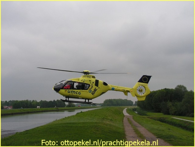 Lifeliner4 inzet Winschoten Foto: Otto Pekel