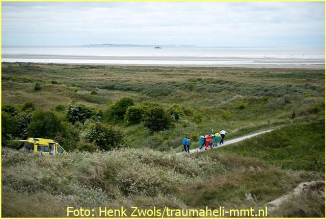 Lifeliner4 inzet Schiermonnikoog Foto: Henk Zwols