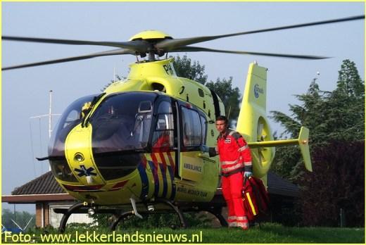 Lifeliner2 inzet Streefkerk Foto: lekkerlandsnieuws.nl